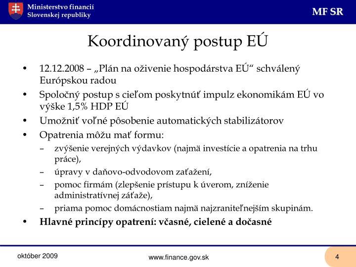Koordinovaný postup EÚ