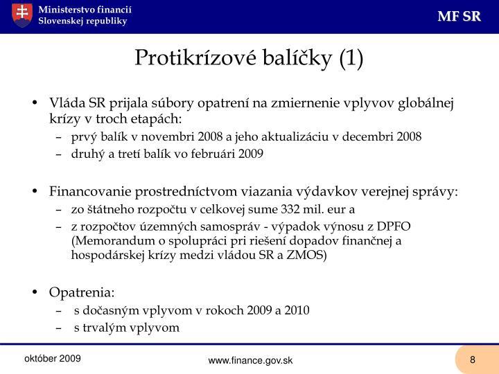 Protikrízové balíčky (1)