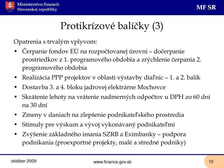 Protikrízové balíčky (3)