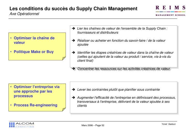 Lier les chaînes de valeur de l'ensemble de la Supply Chain : fournisseurs et distributeurs