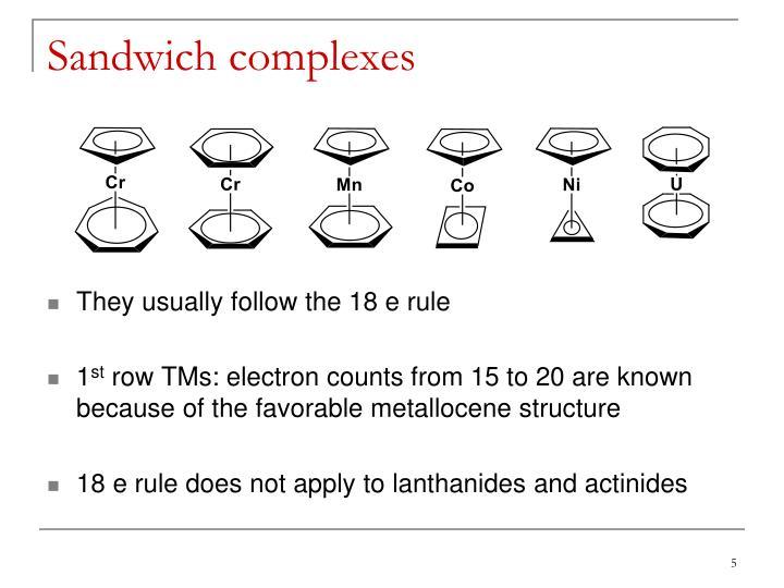 Sandwich complexes