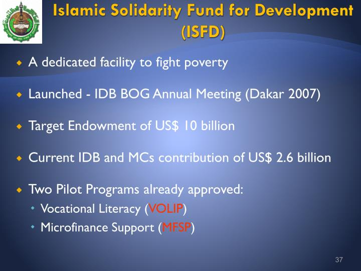 Islamic Solidarity Fund for Development