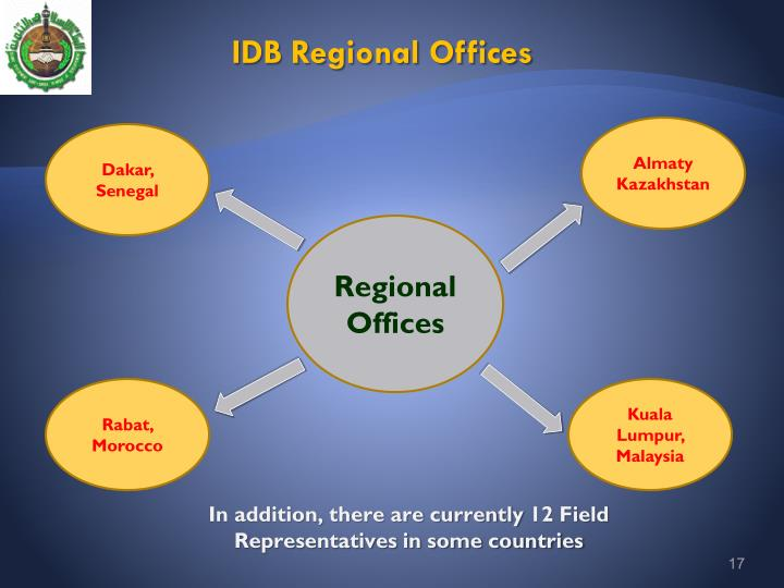 IDB Regional Offices