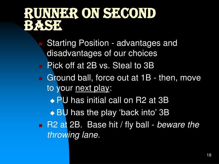 Runner on Second Base