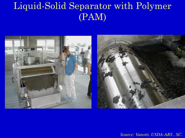 Liquid-Solid Separator with Polymer (PAM)