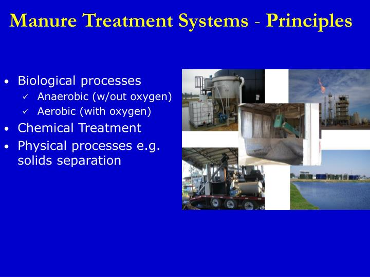 Manure Treatment Systems