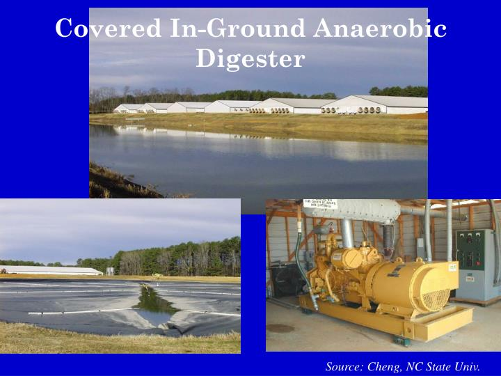 Covered In-Ground Anaerobic Digester