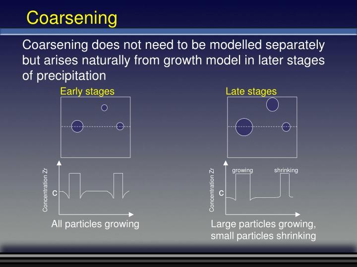 Coarsening