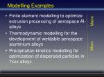 modelling examples