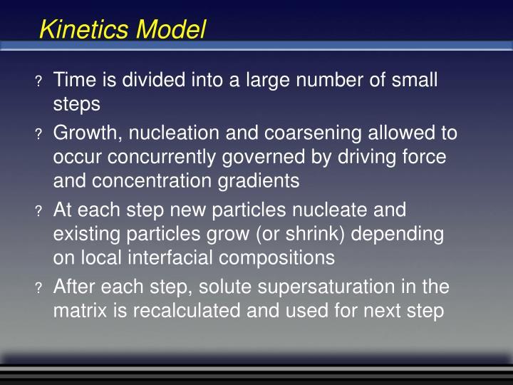 Kinetics Model
