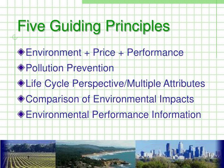 Environment + Price + Performance