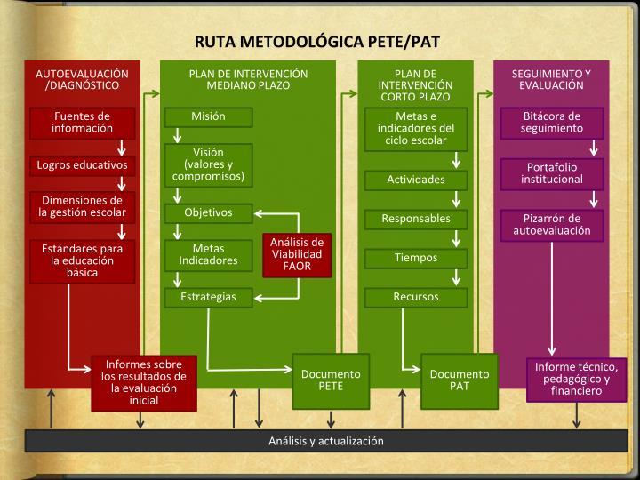 RUTA METODOLÓGICA PETE/PAT