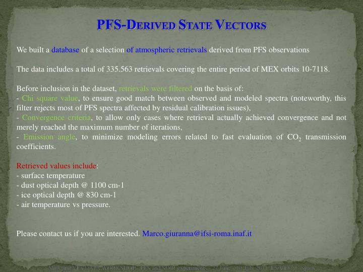 PFS-D
