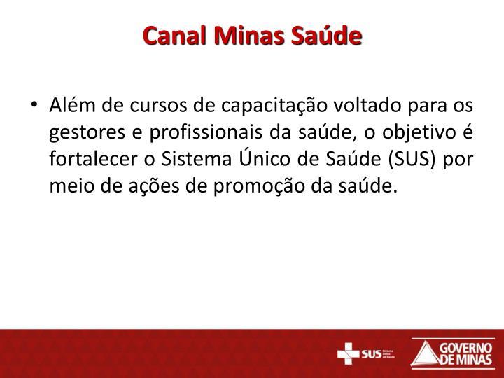 Canal Minas Saúde