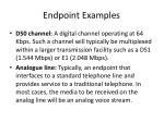 endpoint examples