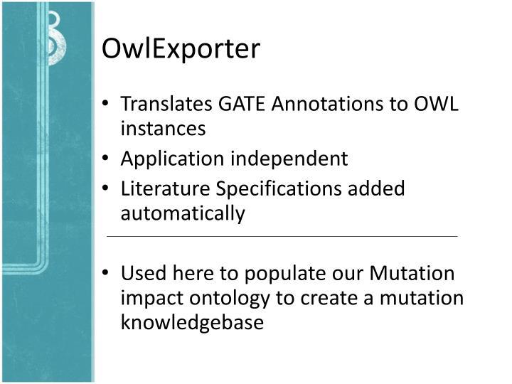 OwlExporter