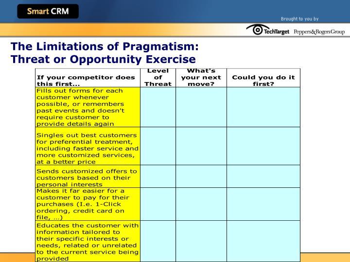The Limitations of Pragmatism: