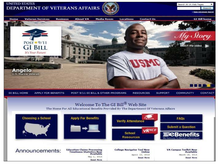 GI Bill Website (