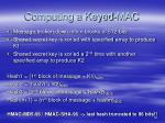 computing a keyed mac