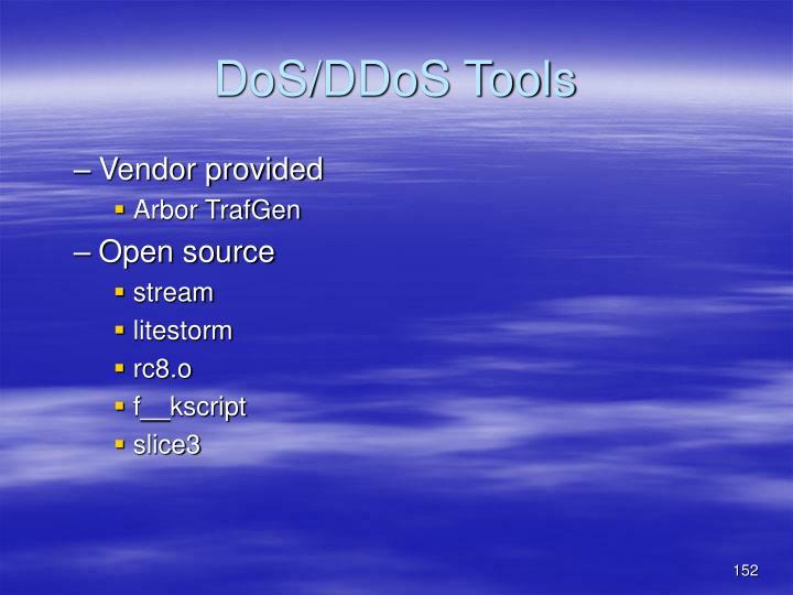 DoS/DDoS Tools