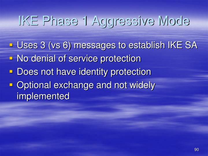 IKE Phase 1 Aggressive Mode