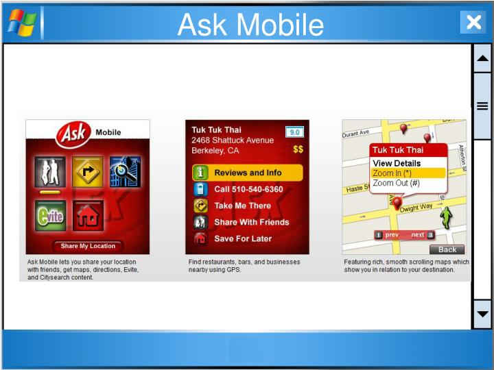 Ask Mobile