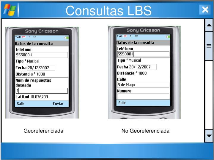 Consultas LBS