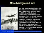 more background info