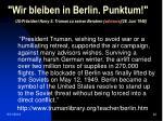 wir bleiben in berlin punktum us pr sident harry s truman zu seinen beratern advisors 28 juni 1948
