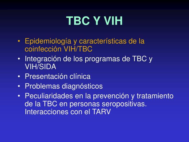 TBC Y VIH