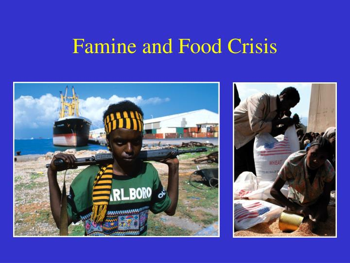 Famine and Food Crisis