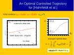 an optimal controlled trajectory for hahnfeldt et al