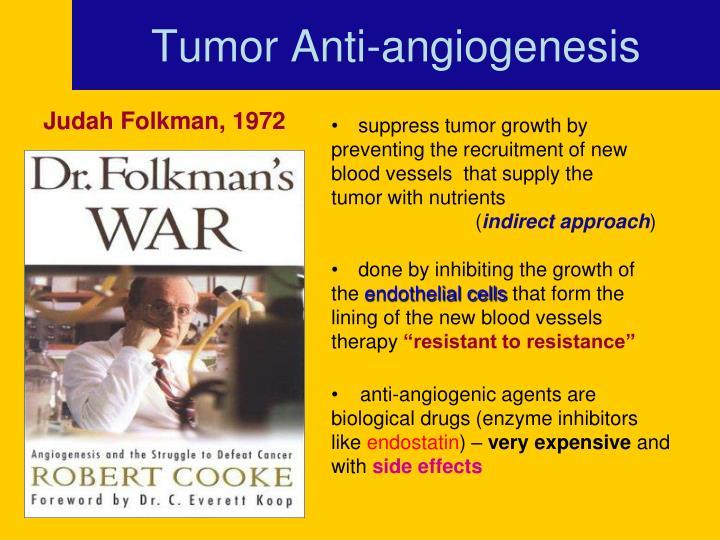 Tumor Anti-angiogenesis