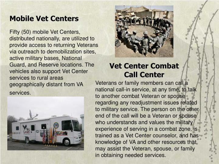 Mobile Vet Centers