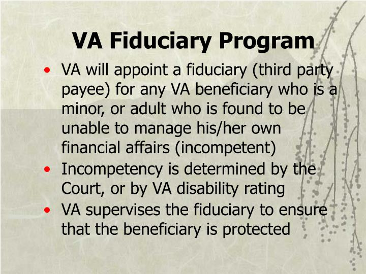 VA Fiduciary Program