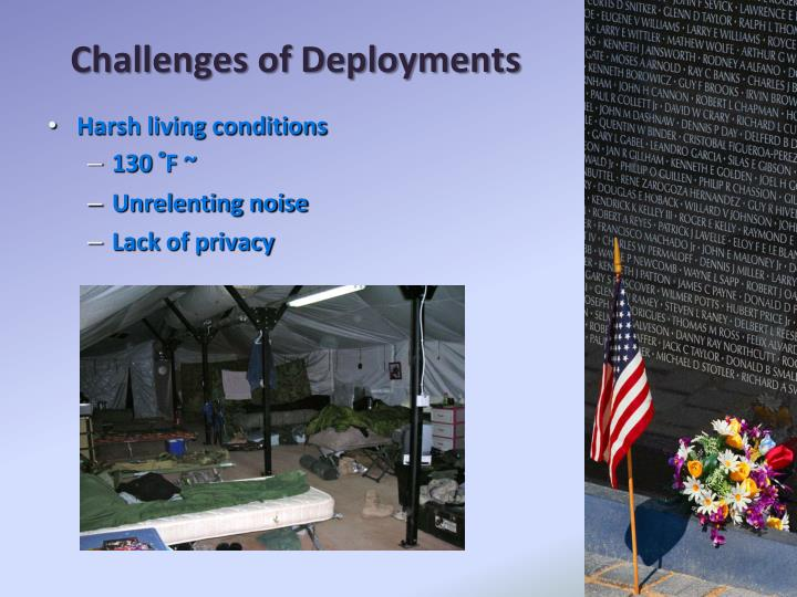 Challenges of Deployments
