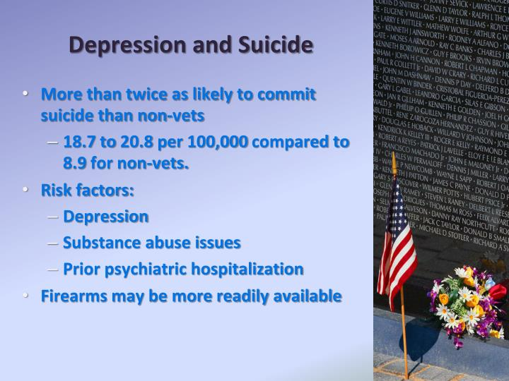 Depression and Suicide