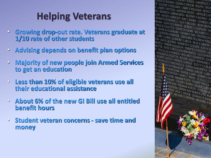 Helping Veterans