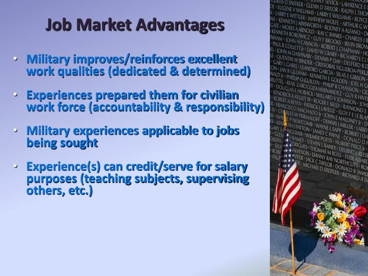 Job Market Advantages