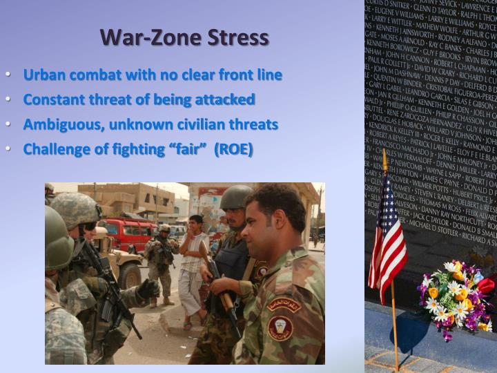 War-Zone Stress