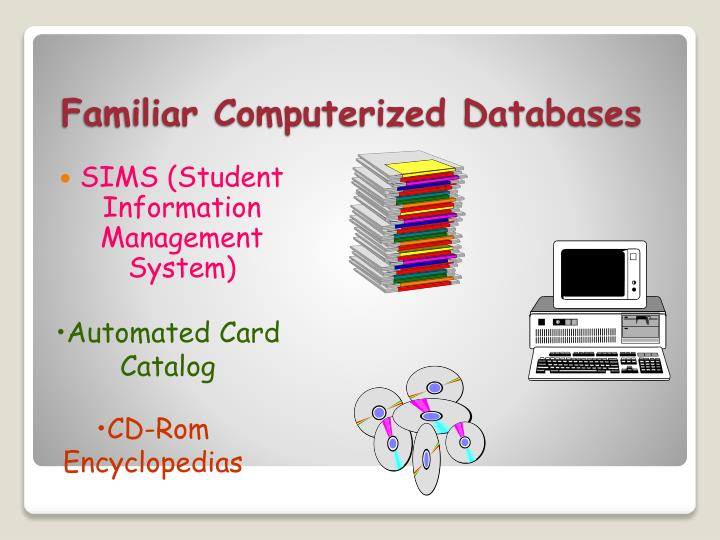 Familiar Computerized Databases
