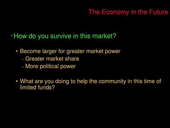 The Economy in the Future