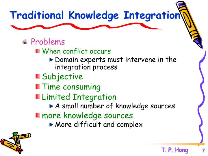 Traditional Knowledge Integration