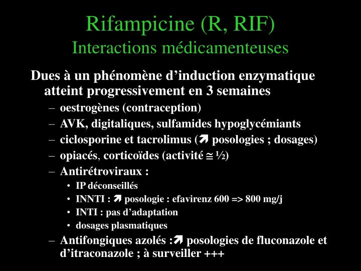Rifampicine (R, RIF)