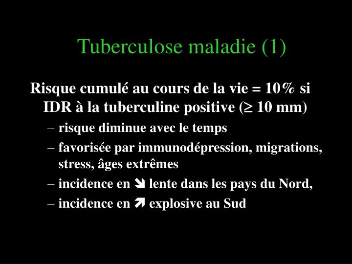 Tuberculose maladie (1)