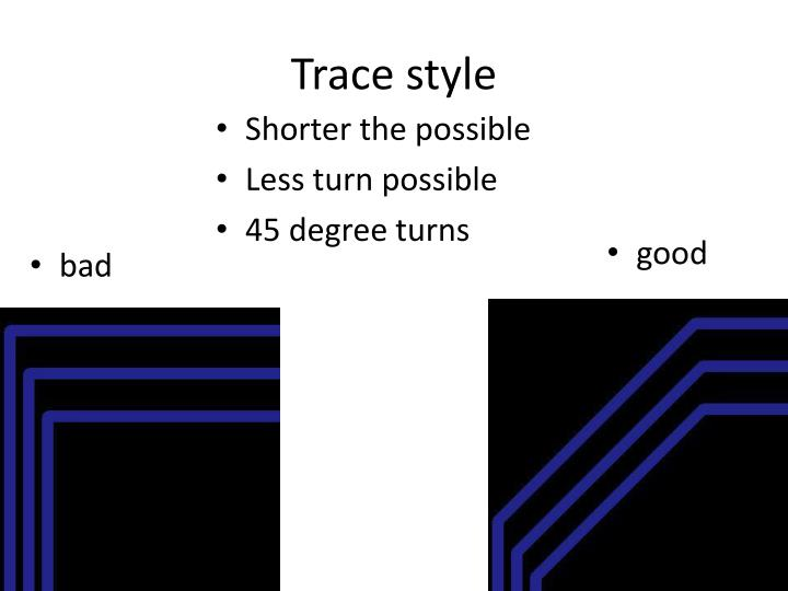 Trace style