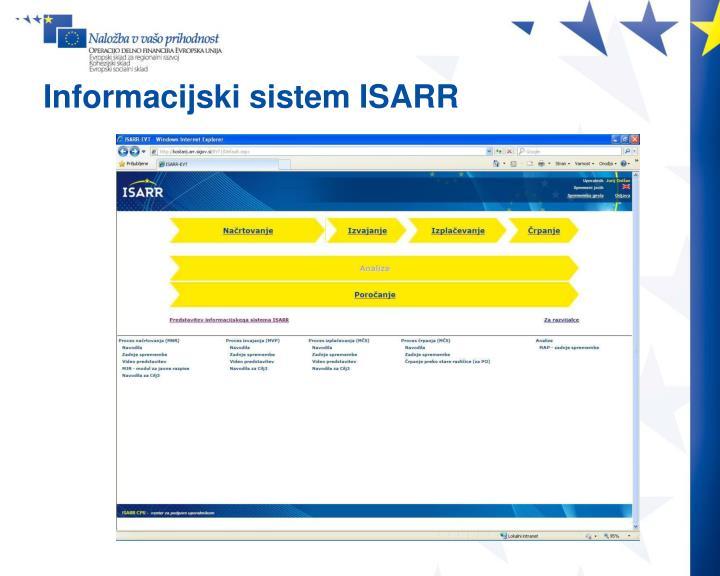 Informacijski sistem ISARR