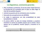 los diagn sticos conclusiones generales1
