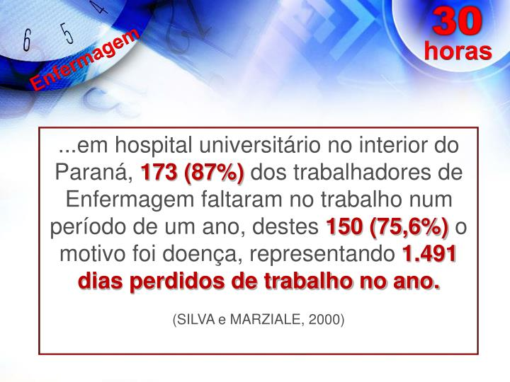 ...em hospital universitário no interior do Paraná,