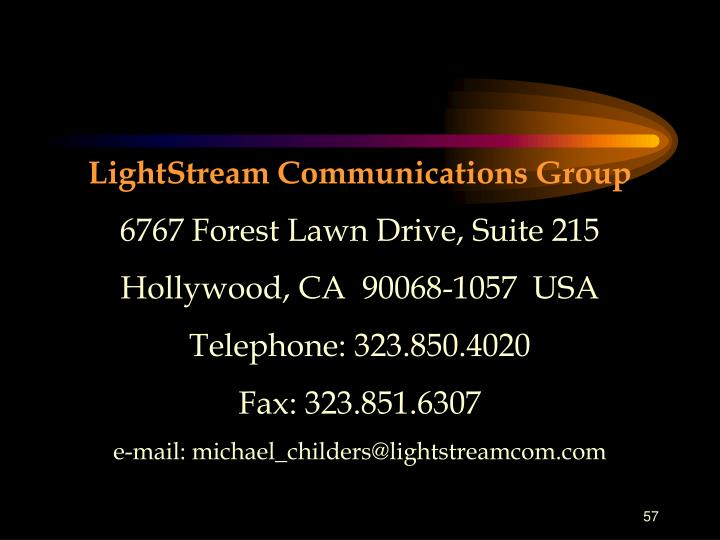 LightStream Communications Group